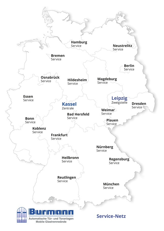 Burmann Service Karte 2016